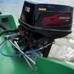 Двухтактный подвесной лодочный мотор Zongshen - Selva