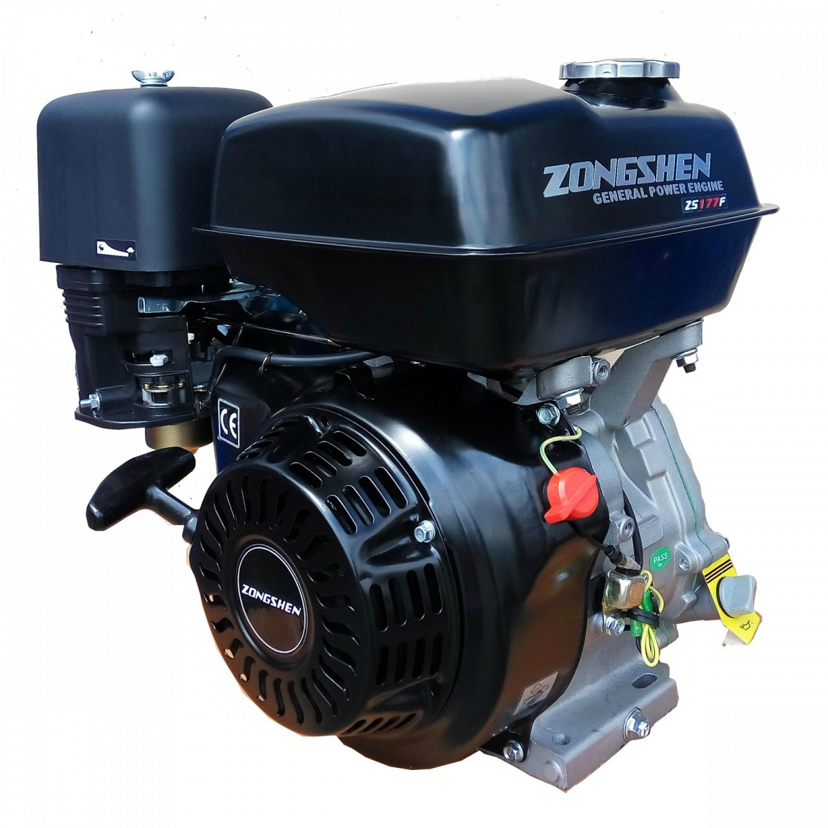 одноцилиндровый и двухцилиндровый лодочный мотор