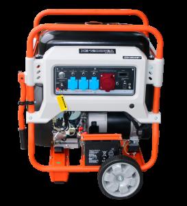 Трехфазный бензиновый генератор Zongshen XB 12003 E 10 кВт