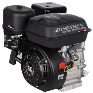 Бензиновый двигатель Zongshen ZS 168 FB с понижающим редуктором 1/2 и автоматическим центробежным сцеплением