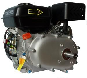Бензиновый четырехтактный двигатель Zongshen (Зонгшен) ZS 168 FBE-4 с понижающим редуктором 1/2 и автоматическим центробежным сцеплением, электрическим стартером и катушками освещения
