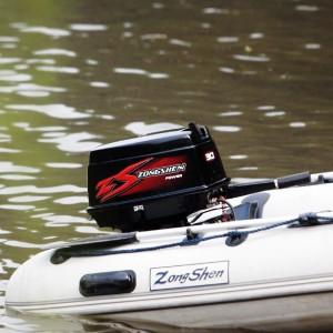 Подвесной двухтактный лодочный мотор (ПЛМ) Zongshen T 30 BMS