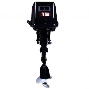 Подвесной двухтактный лодочный мотор (ПЛМ) Zongshen T 15 BMS