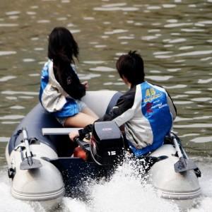 Подвесной двухтактный лодочный мотор (ПЛМ) Zongshen T 15 BML