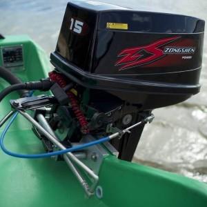 Подвесной двухтактный лодочный мотор (ПЛМ) Zongshen T 15 BWS