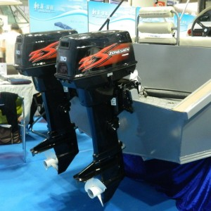 Двухтактный подвесной лодочный мотор (ПЛМ) Zongshen T 30 FWS