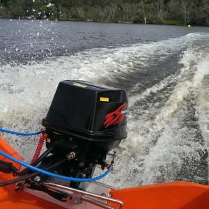 Подвесной двухтактный лодочный мотор (ПЛМ) Zongshen T 35 FWL