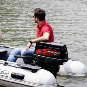 Подвесной двухтактный лодочный мотор (ПЛМ) Zongshen T 25 BWS