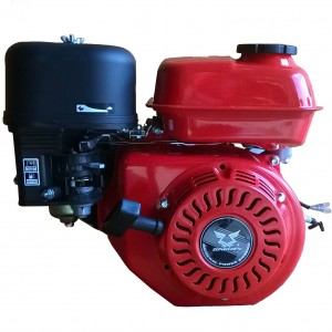 Двигатель бензиновый Zongshen (Зонгшен) ZS 168FB-6 с понижающим редуктором и катушками освещения
