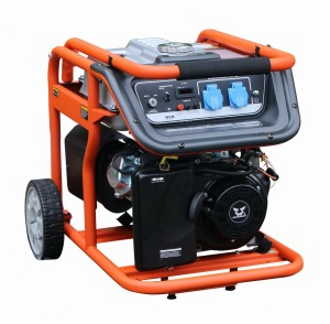 Бензиновый однофазный генератор (электростанция) Zongshen KB 2500 2.2 кВА (кВт)