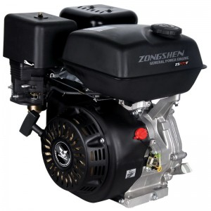 Четырехтактный бензиновый двигатель для мотоблока, мотокультиватора Zongshen (Зонгшен) ZS 177F 9 л.с.