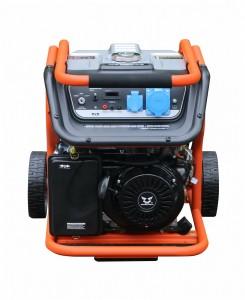 Бензиновый однофазный генератор (электростанция) Zongshen KB 6000 5.5 кВА (кВт) с электрическим запуском (электростартером)