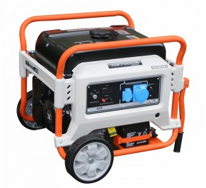 Бензиновый однофазный генератор (электростанция) Zongshen XB 6000 5.5 кВА (кВт) с электрическим запуском (электростартером)