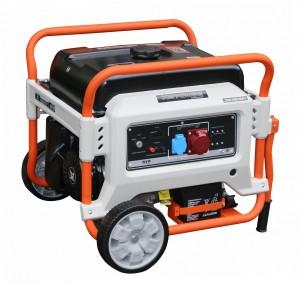 Бензиновый трехфазный генератор (электростанция) Zongshen XB 7003 E 6.5 кВА (кВт) с электрическим запуском (электростартером)