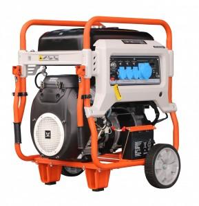 Бензиновый однофазный генератор (электростанция) Zongshen XB 12000 11.0 кВА (кВт) с электрическим запуском (электростартером)